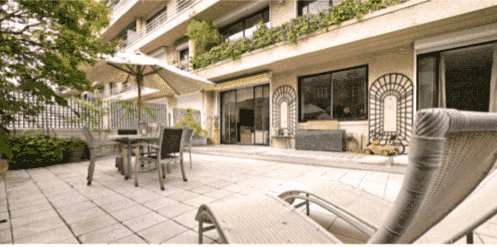 Luxury apartment with incredible terrace for sale in Paris ...