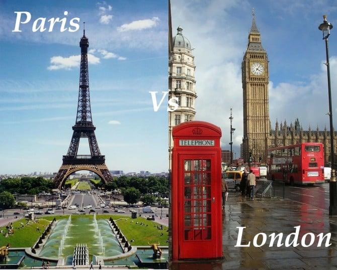 Paris vs London - real estate