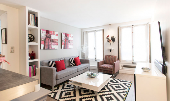 Renovated 2 bed / 2 bath apartment in Paris\' 6th might be the ...