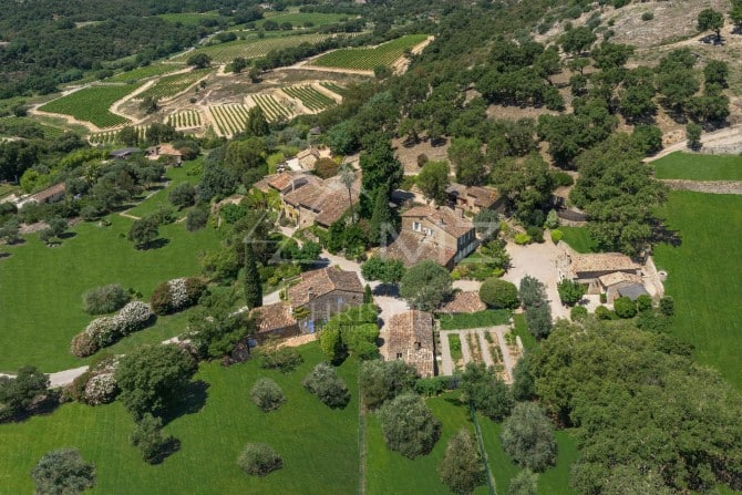 Johnny depp is selling his 55 million village estate in the south of france - Johnny depp france house ...