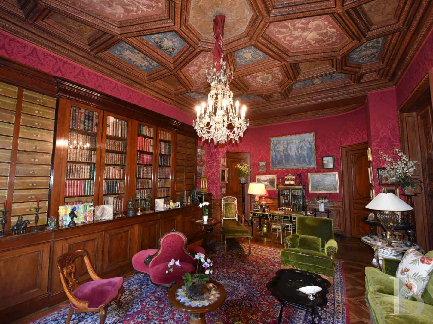 Napoleonic Empire Style Luxury Apartment For Sale In Paris