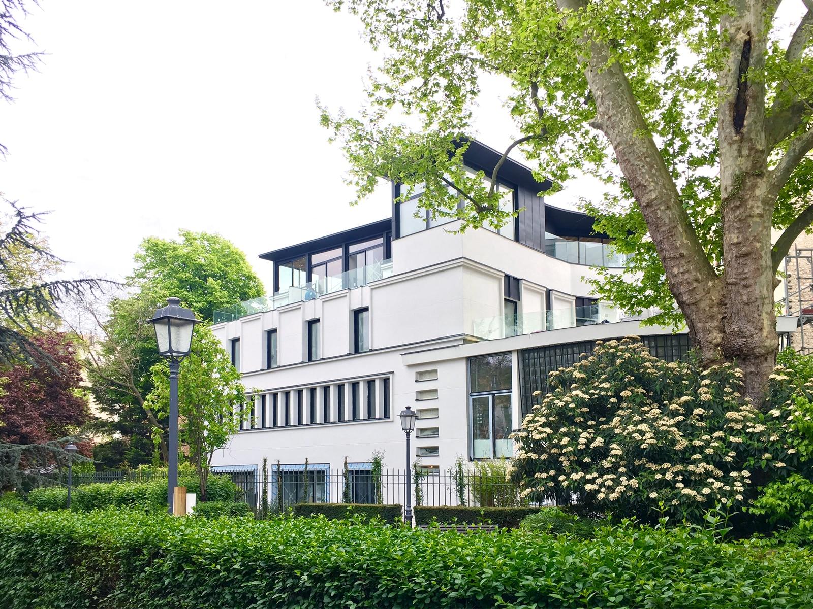 art deco building in paris suburb becomes luxury residence paris