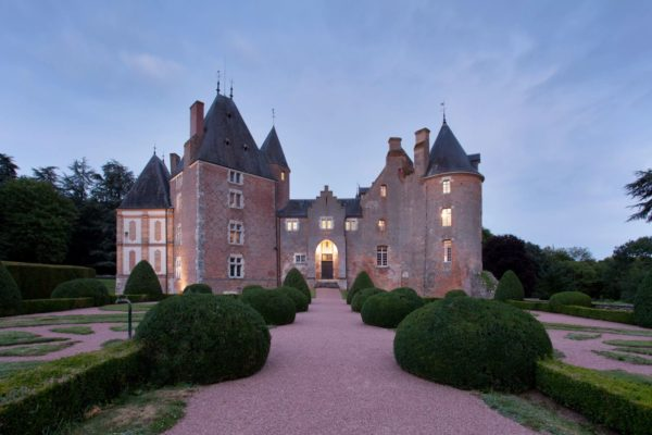 The chateau was built in the 15th century but had its façade completed in the 17th the interior is adorned with the classic louis xiii luxury trimmings and