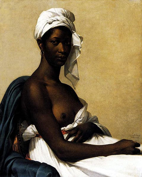 Marie-Guillemine Benoist [Public domain] Marie-Guillemine Benoist - portrait d'une negresse